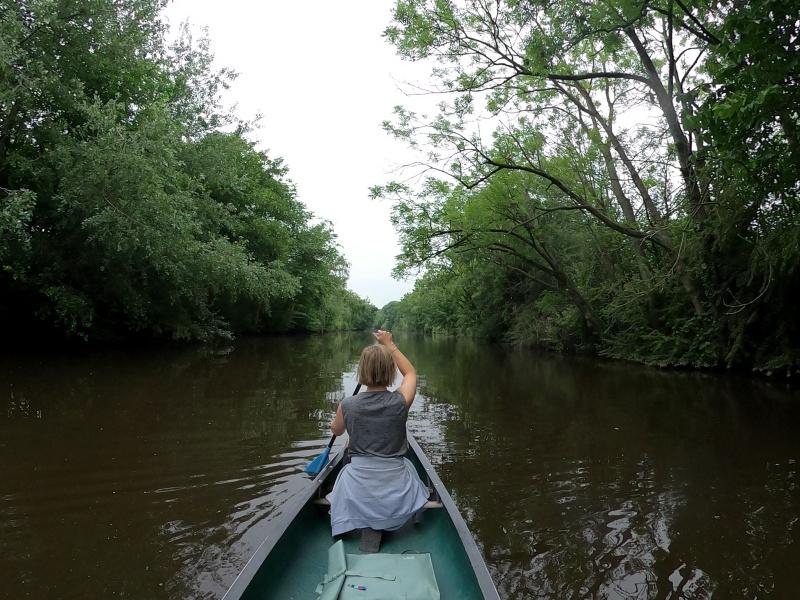 Mehrtägige Wandertour Kanu